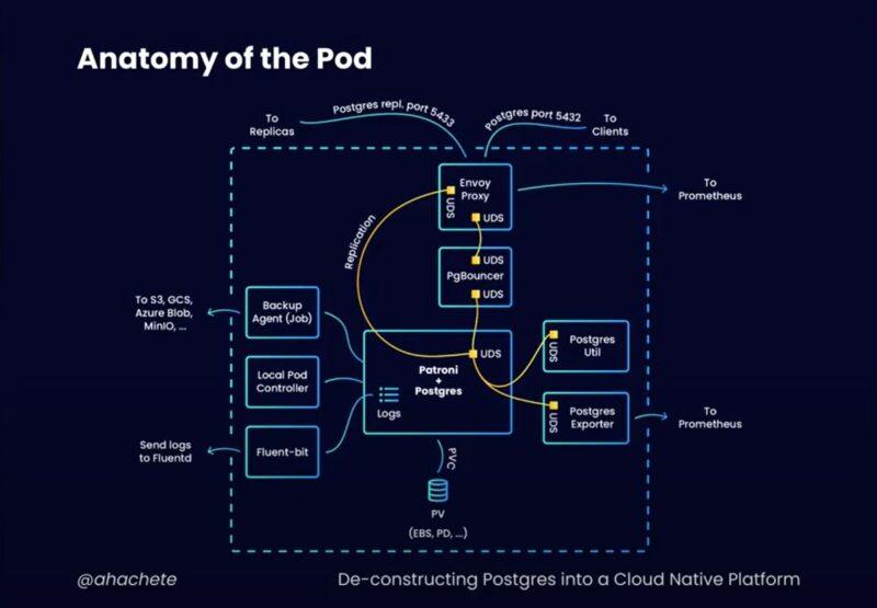 Anatomy of the pod