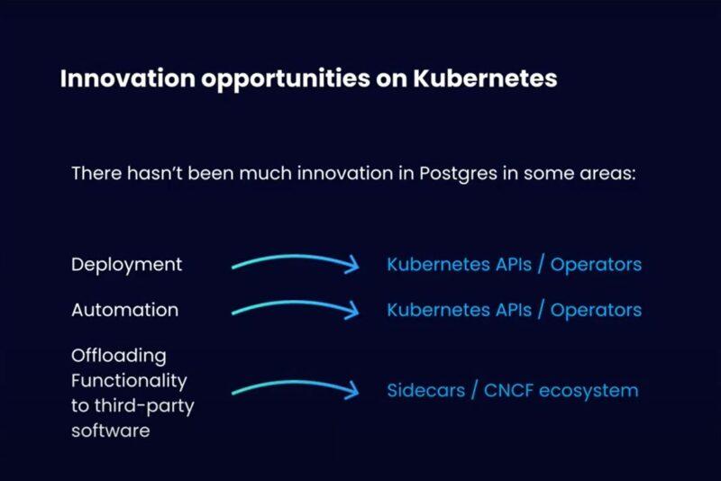 Innovation opportunities
